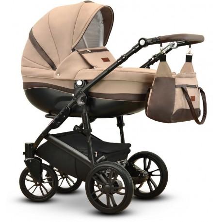 Sawo Vega wózek dziecięcy wielofunkcyjny beżowy gondola + stelaż