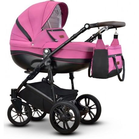 Sawo Vega wózek dziecięcy różowy wielofunkcyjny 3w1