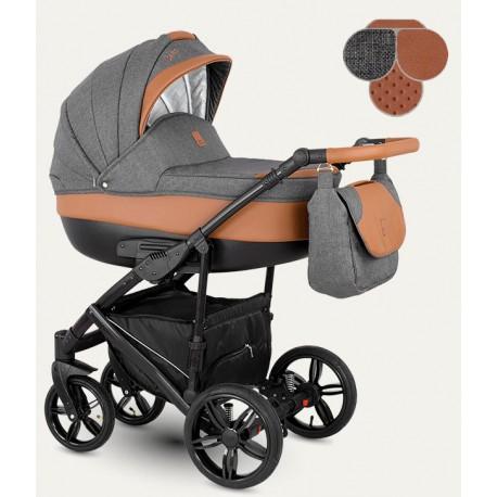 Baleo Camarelo wózek dziecięcy wielofunkcyjny 3w1