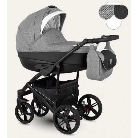 Baleo Camarelo wózek dziecięcy wielofunkcyjny 3w1 zielony