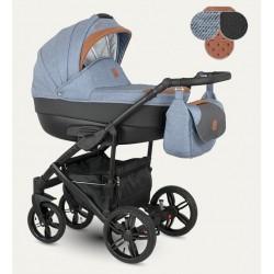 Baleo Camarelo wózek dziecięcy wielofunkcyjny 3w1 szary