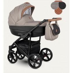 Baleo Camarelo wózek dziecięcy wielofunkcyjny 3w1 brązowy