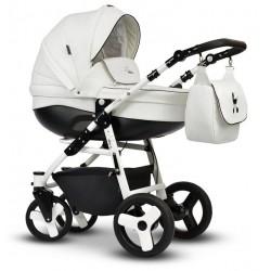 Wózek dziecięcy Cosmo EKO MIX Vega 3w1 biały