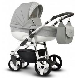 Wózek dziecięcy Cosmo EKO MIX Vega 3w1 szary