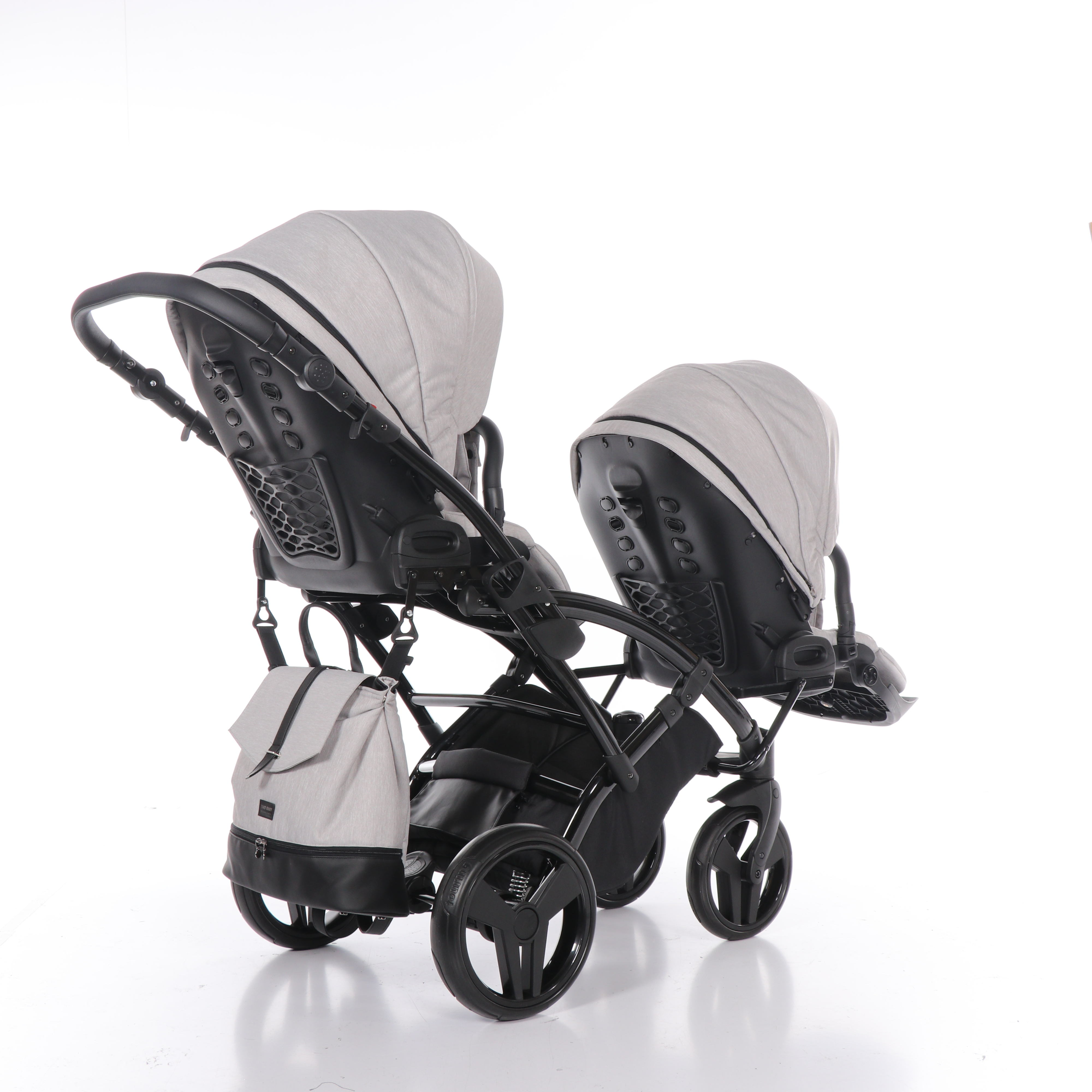 wózek bliźniaczy Artemo Duo Slim wielofunkcyjny dziecięcy Tako spacerowy Dadi Shop