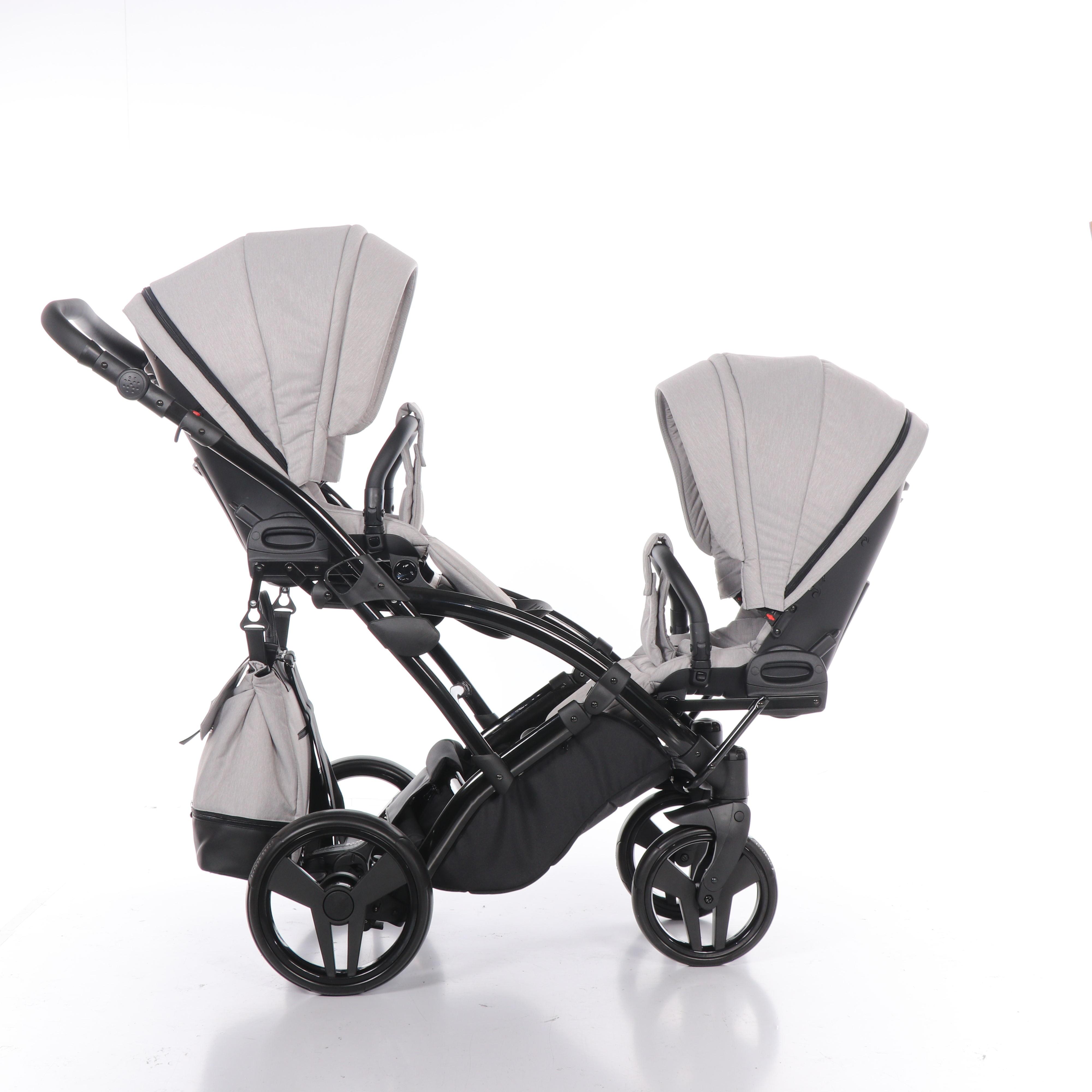 wózek bliźniaczy Artemo Duo Slim wielofunkcyjny dziecięcy Tako spacerowy 2w1