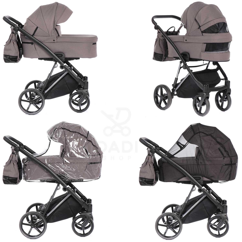 wózek Artemo dziecięcy wielofunkcyjny Tako funkcje gondoli