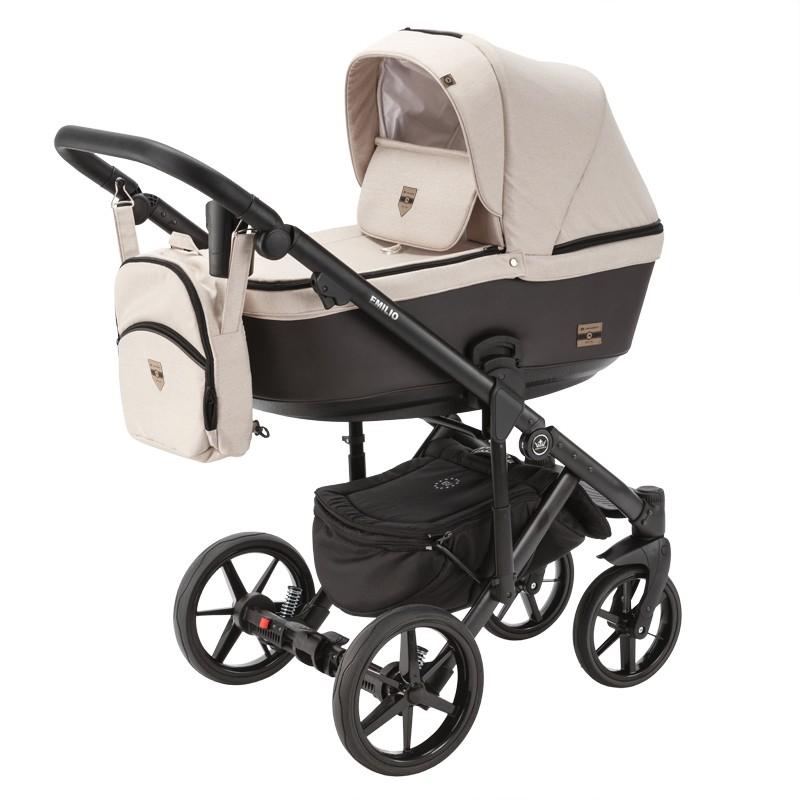 wózek dziecięcy Emilio Adamex beżowy