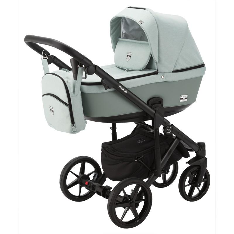 wózek dziecięcy Emilio Adamex zielony