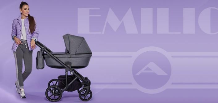 wózek dziecięcy Adamex Emilio