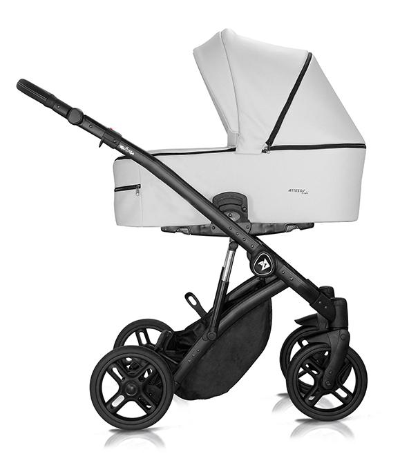 wózek Milu Kids Atteso Ledo głęboko spacerowy dziecięcy wielofunkcyjny