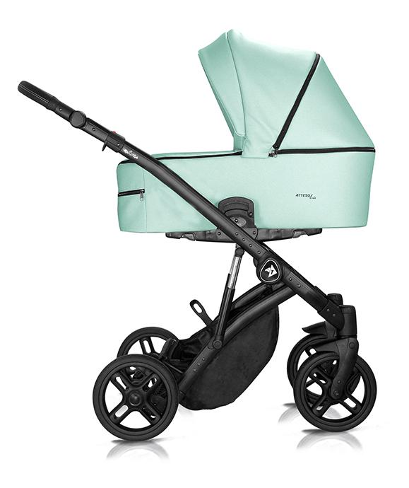 wózek wielofunkcyjny Atteso Ledo dziecięcy Milu Kids eco skóra zielony