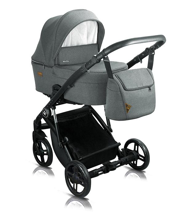 wózek wielofunkcyjny Atteso Milu Kids dziecięcy głeboko spacerowy gondola
