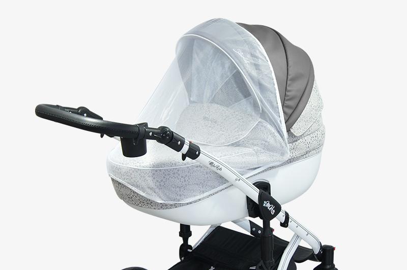 wózek dziecięcy wielofunkcyjny Bacio moskitera