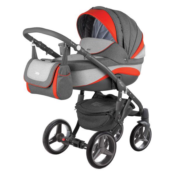 Barletta New Adamex wózek dzieciecy wielofunkcyjny