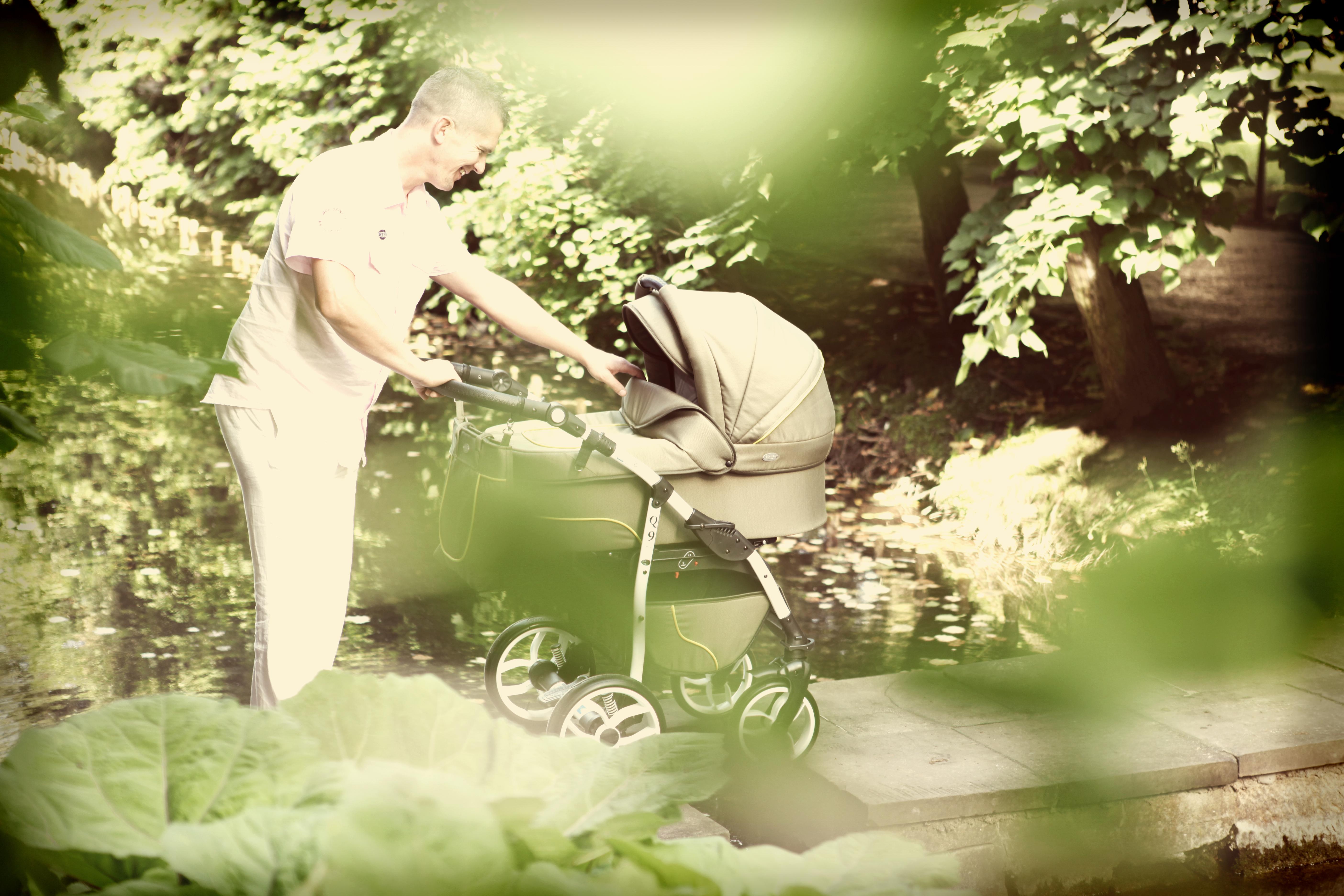 wózek dziecięcy Baby Merc Q9 obraz