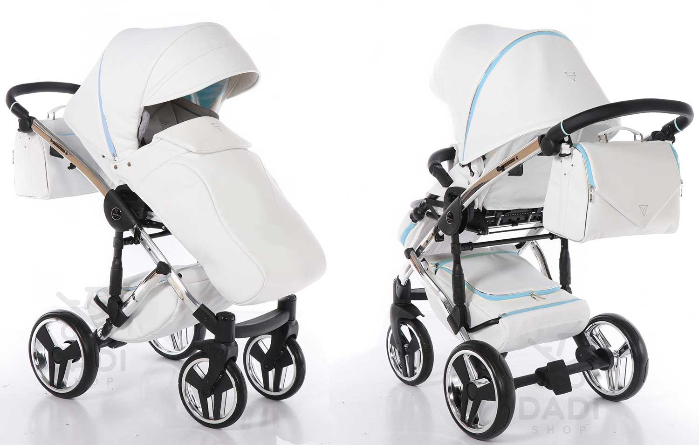 Junama Candy nowoczesny wózek dzieciecy wielofunkcyjny spacerówka elegancka Dadi Shop