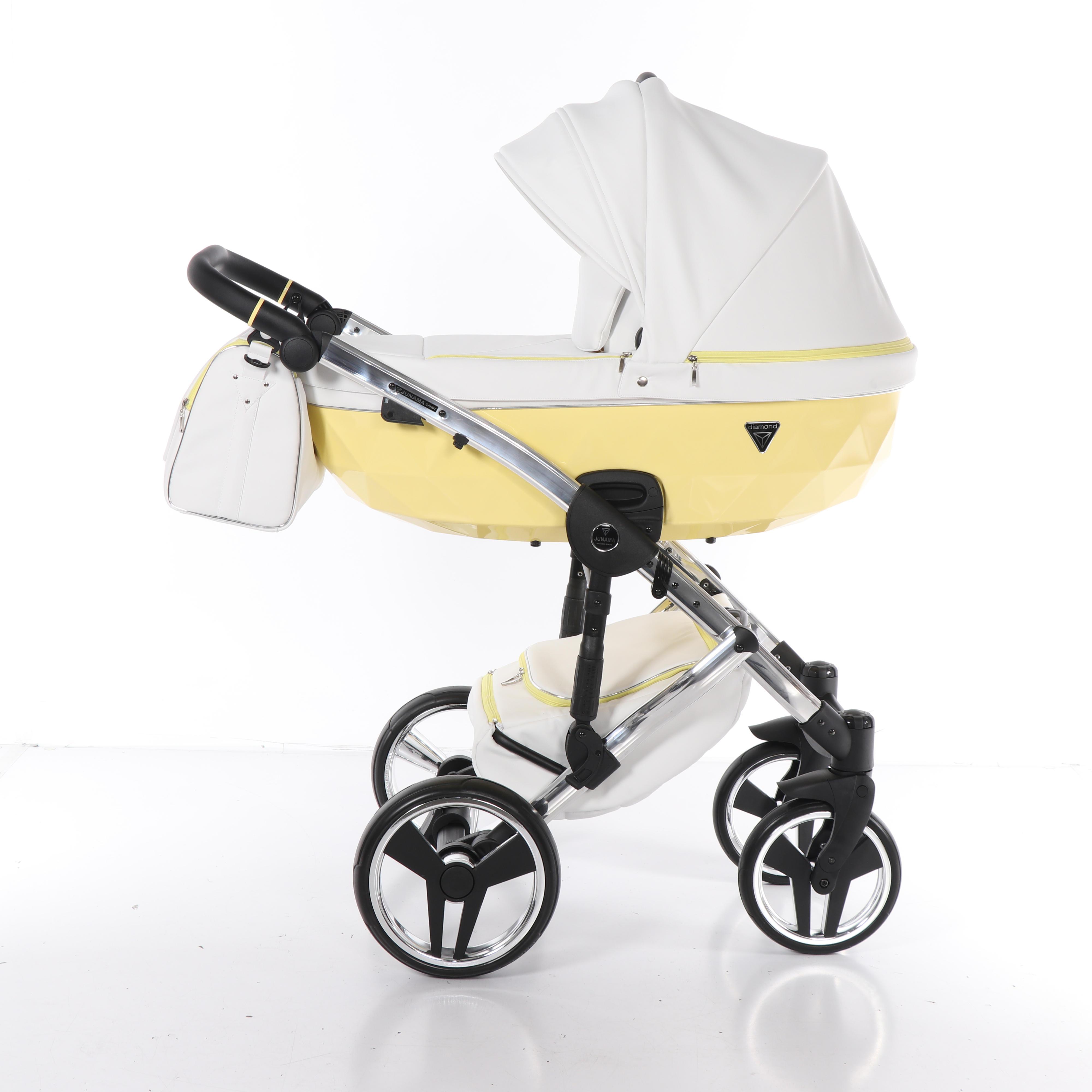 Junama Candy żółty wózek dziecięcy
