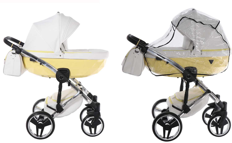 wózek dziecięcy wielofunkcyjny Candy Junama elegancki eco skóra