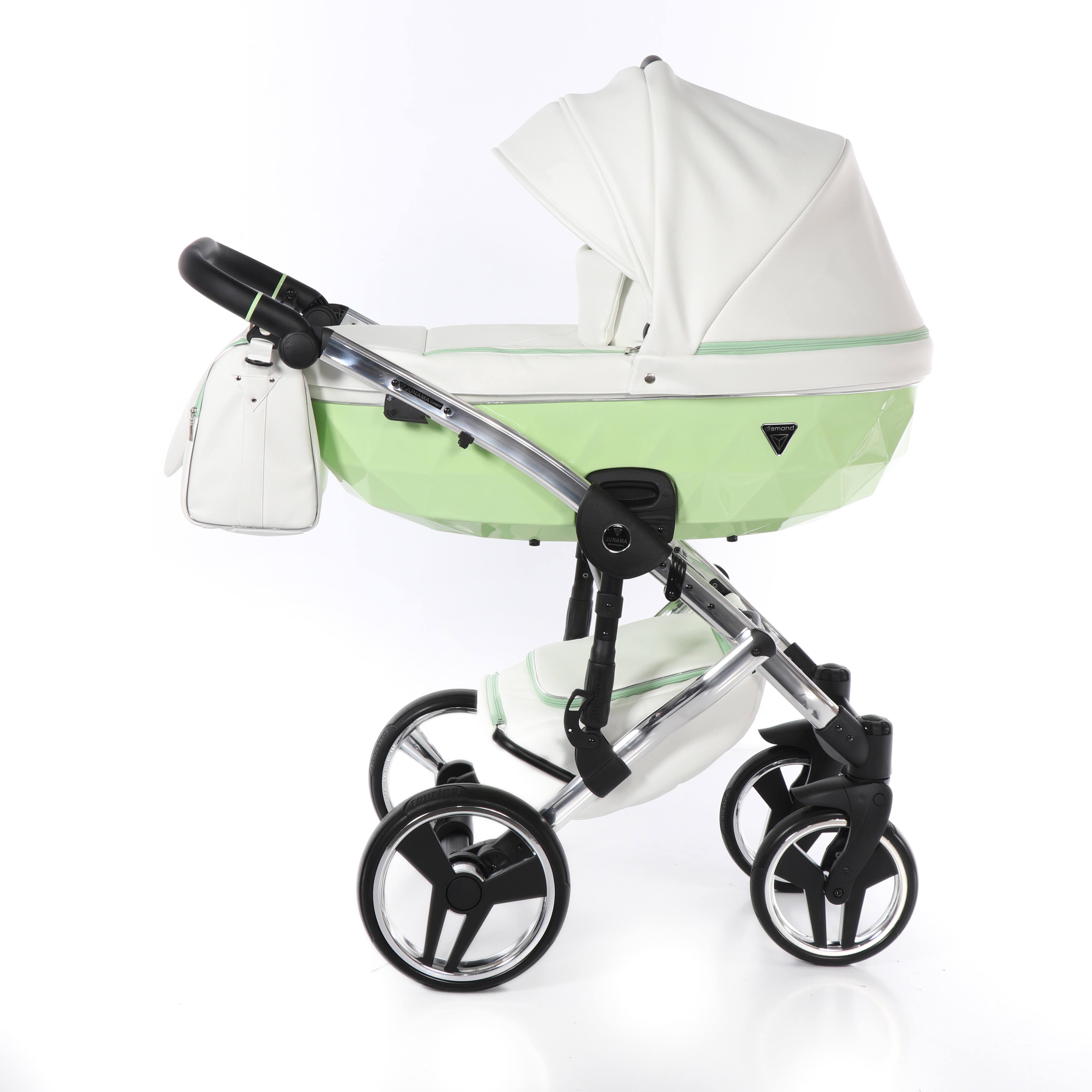 Candy Junama zielony wózek dziecięcy Dadi Shop
