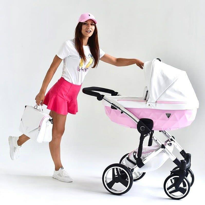 wózek Junama Candy dzieciecy wielofunkcyjny nowoczesny plener Dadi Shop super wózek elegancki