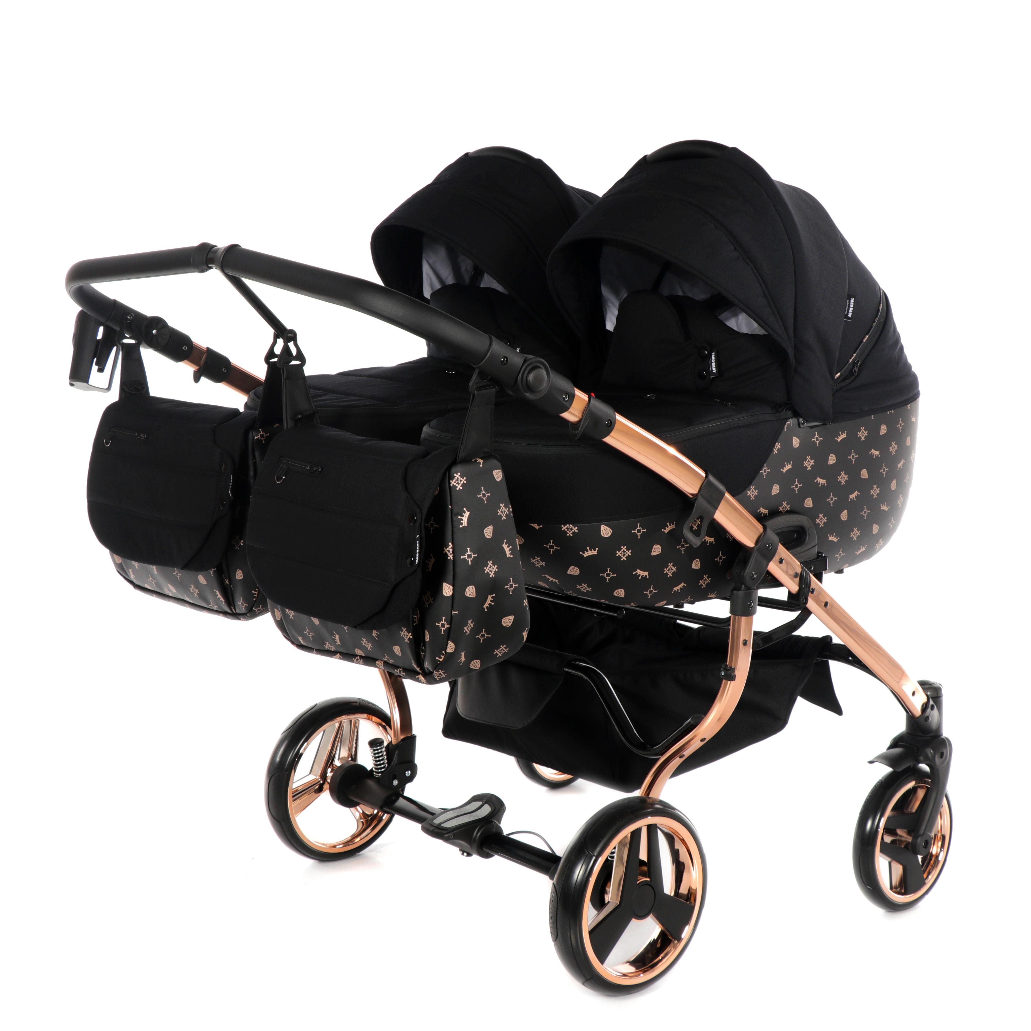 wózek bliźniaczy Imperial Laret Duo Tako wielofunkcyjny dzieciecy Dadi Shop