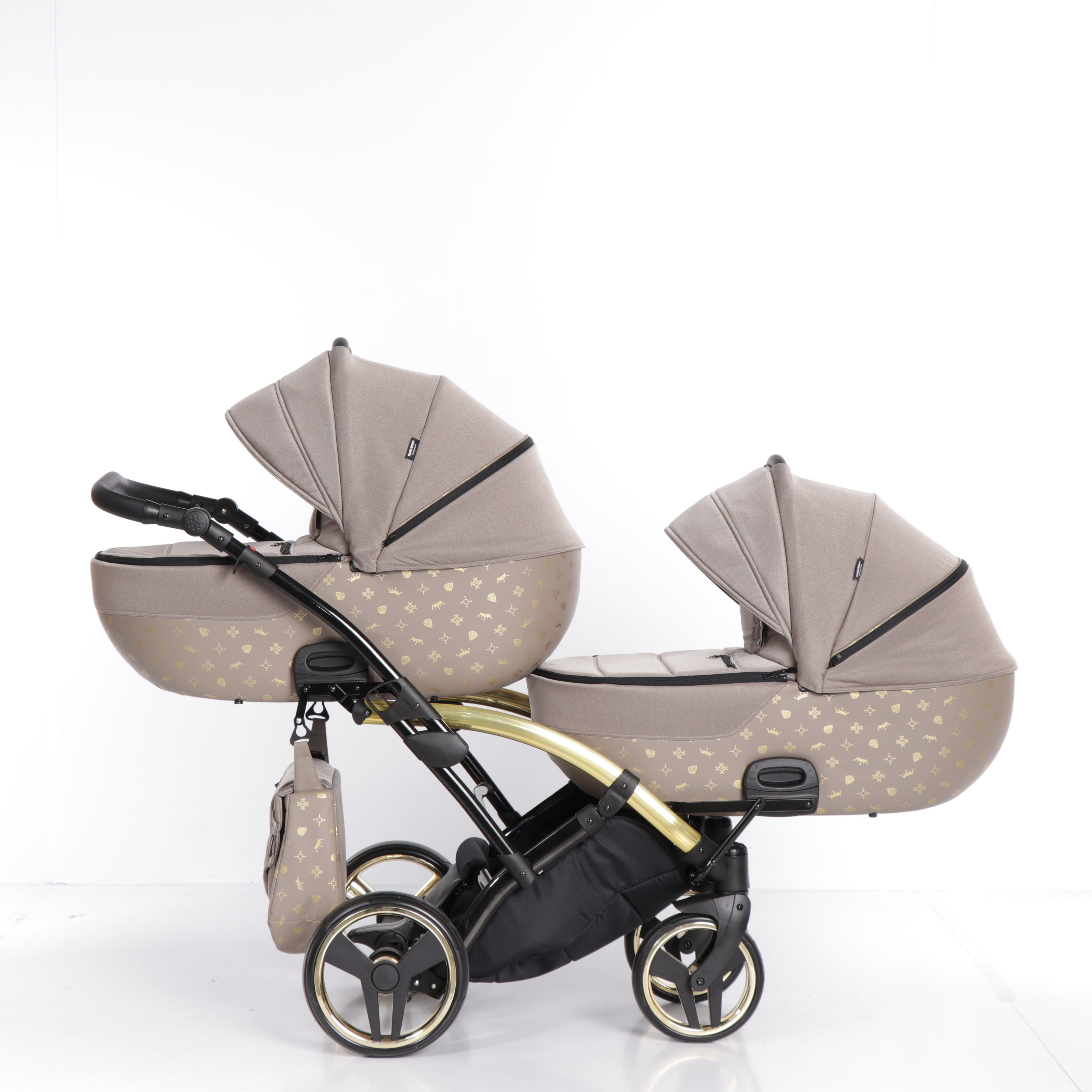 wózek bliźniaczy Imperial Laret Duo Tako wielofunkcyjny dzieciecy Dadi Shop gondola spacerówka funkcje montaż