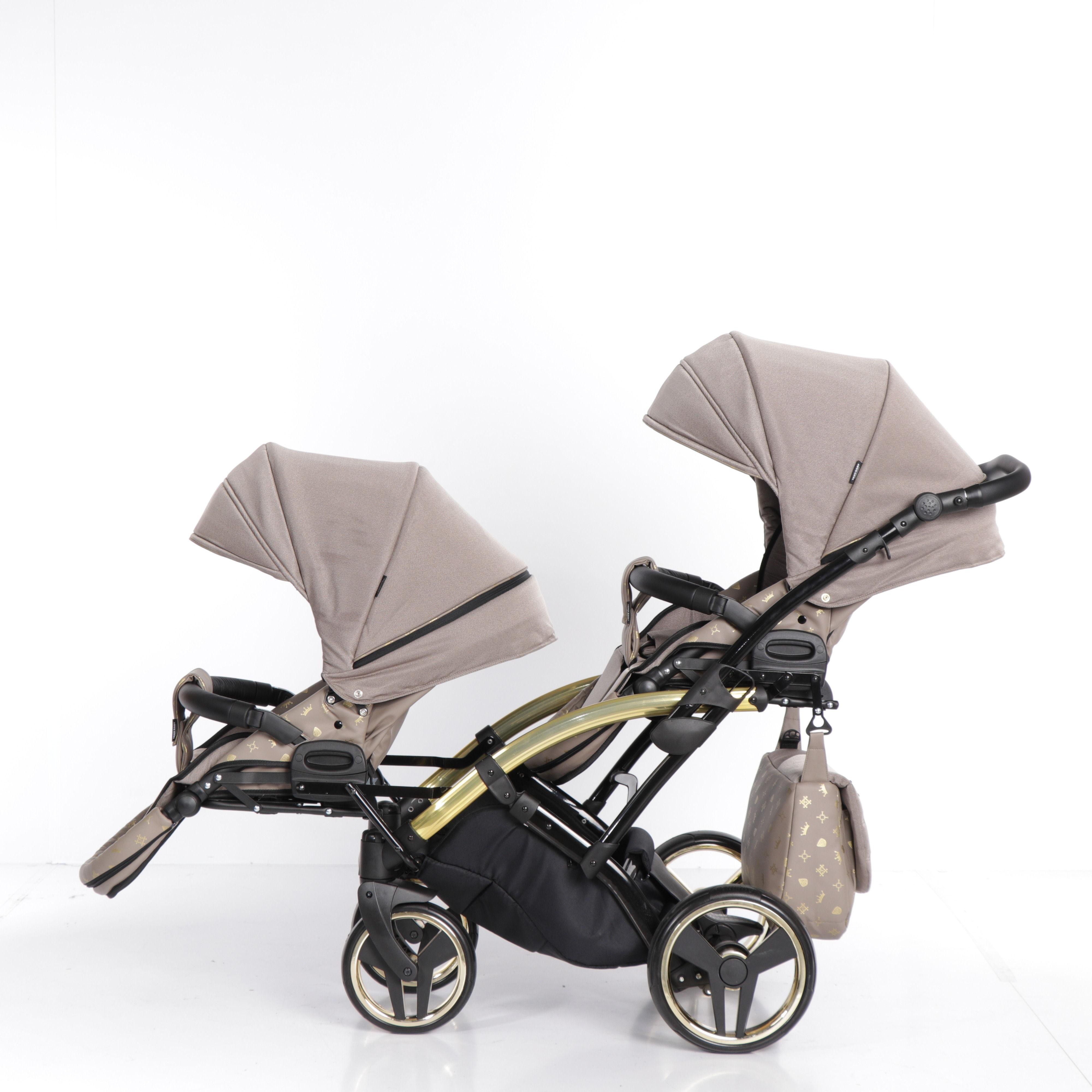 wózek bliźniaczy Imperial Laret Duo Tako wielofunkcyjny dzieciecy Dadi Shop funkcje montaż gondola spacerówka