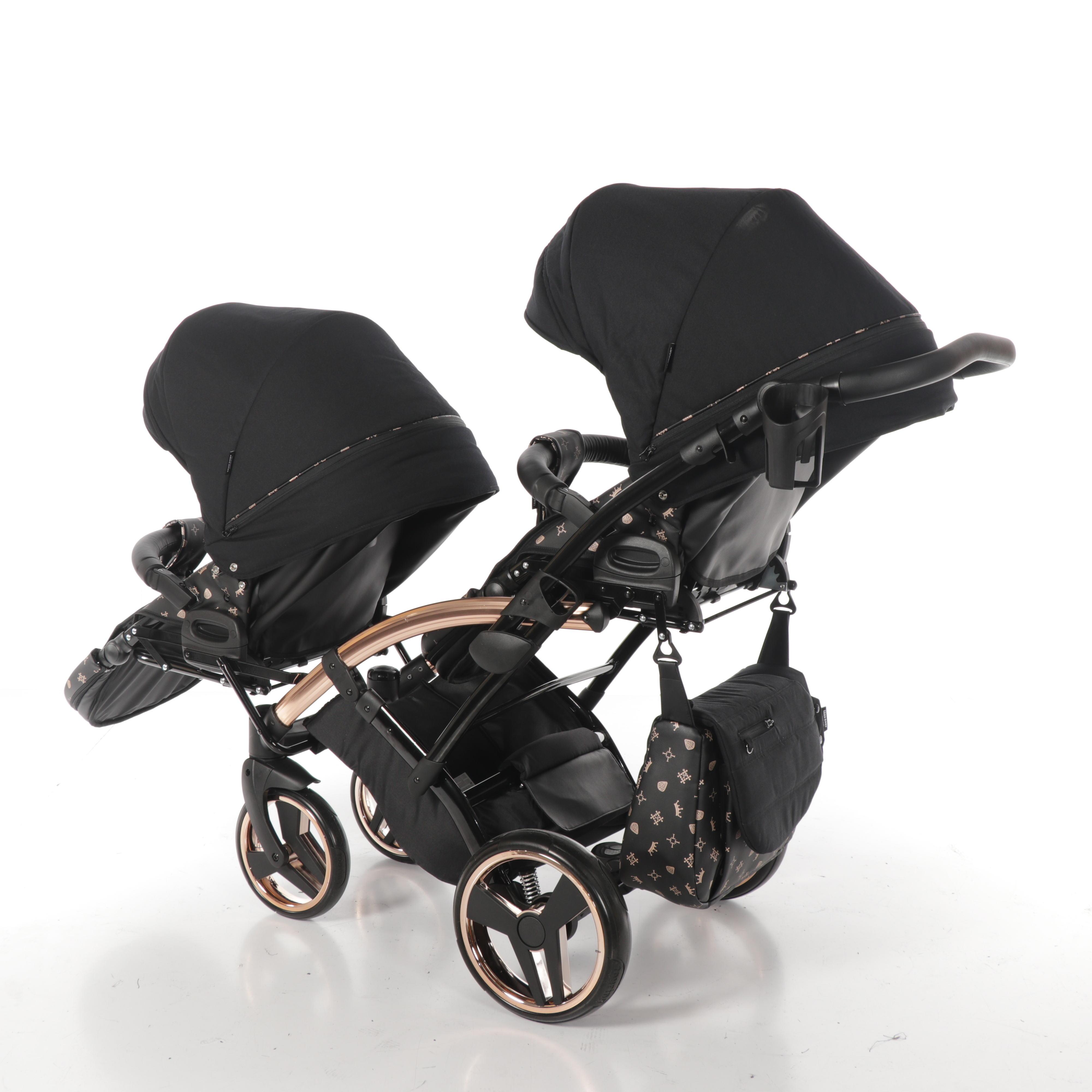 wielofunkcyjny wózek bliźniaczy Laret Imperial Tako spacerowy Dadi Shop
