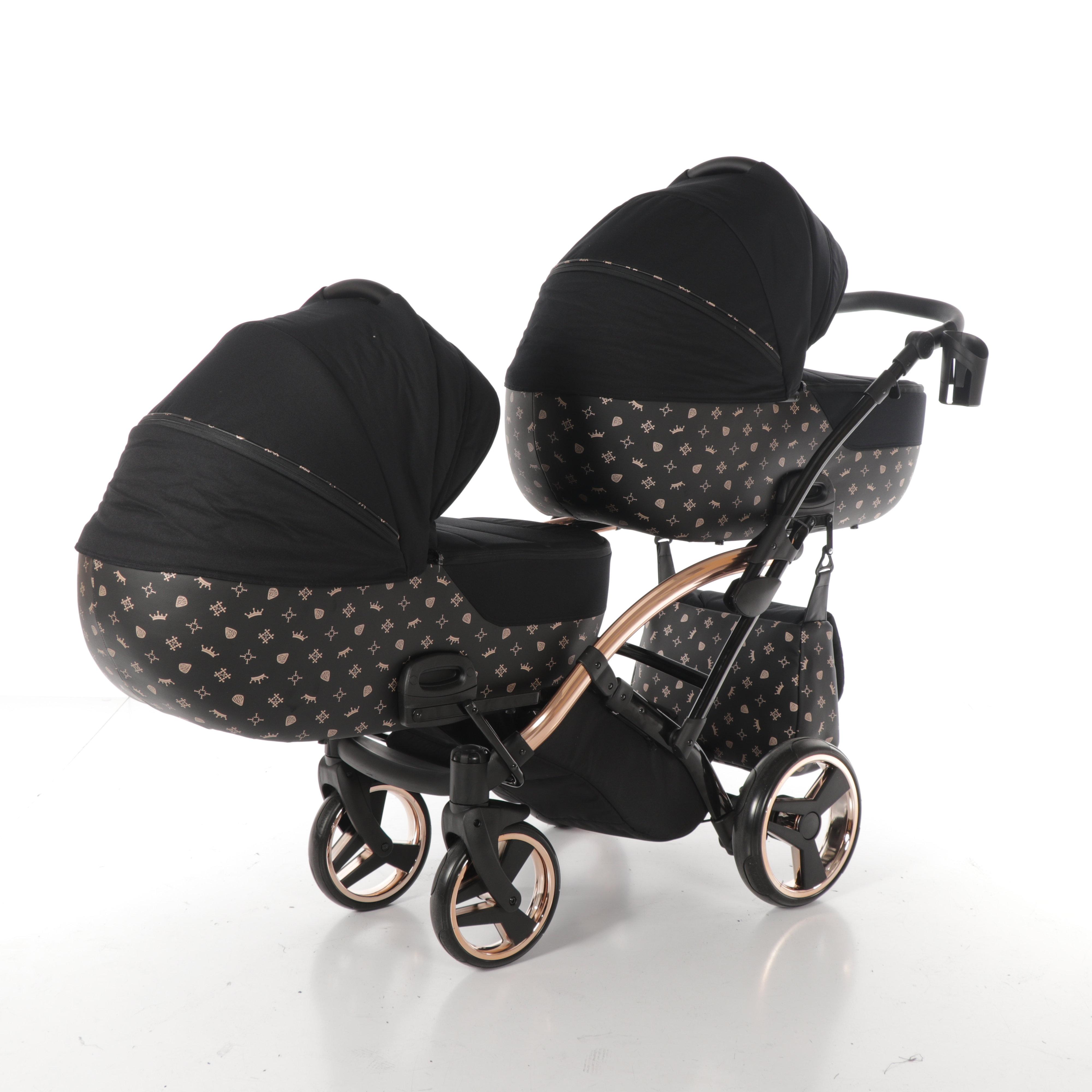 wózek bliźniaczy Imperial Laret Duo Slim Tako wielofunkcyjny dzieciecy Dadi Shop