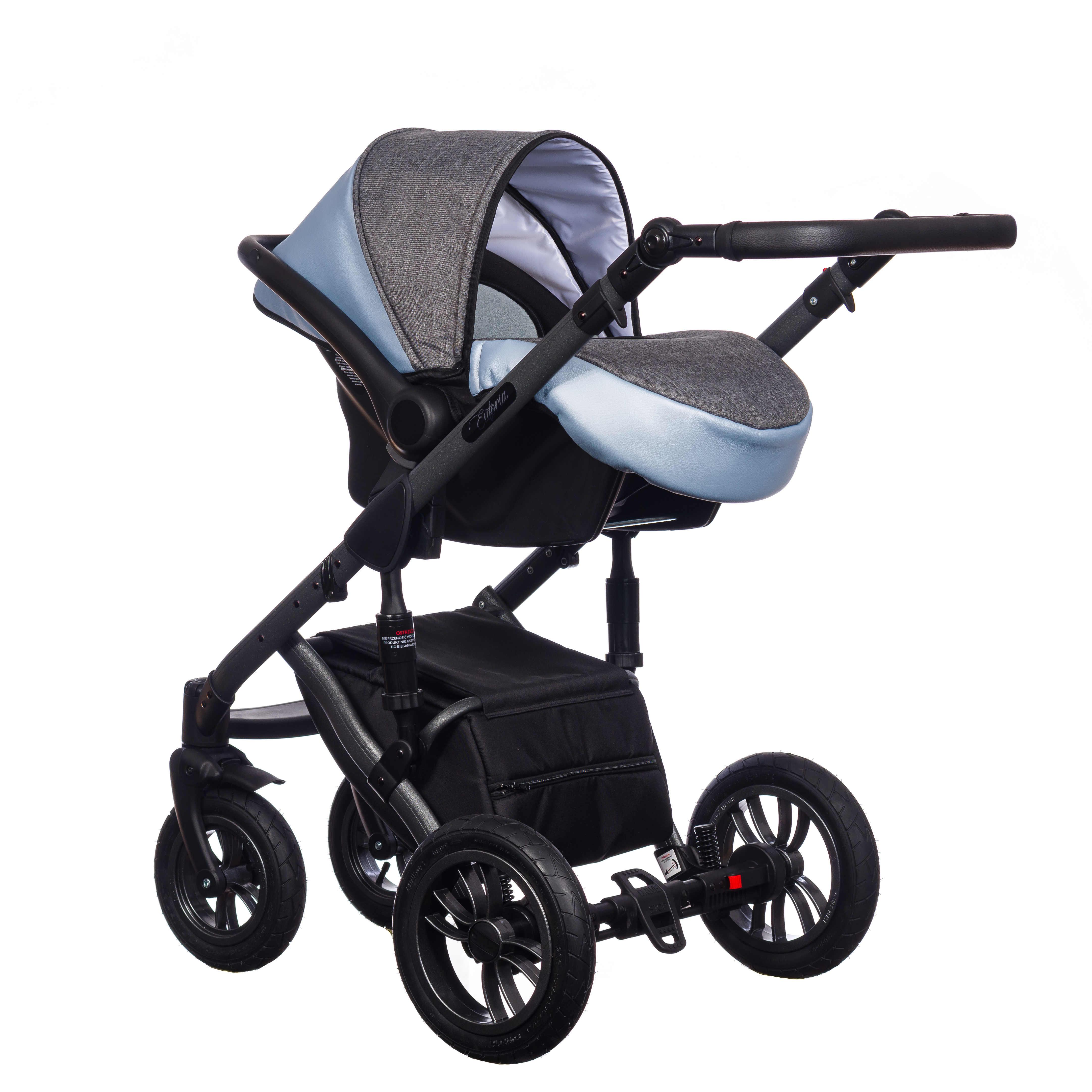 wózek Paradise Baby Euforia Comfort Line z fotelikiem KITE 3w1