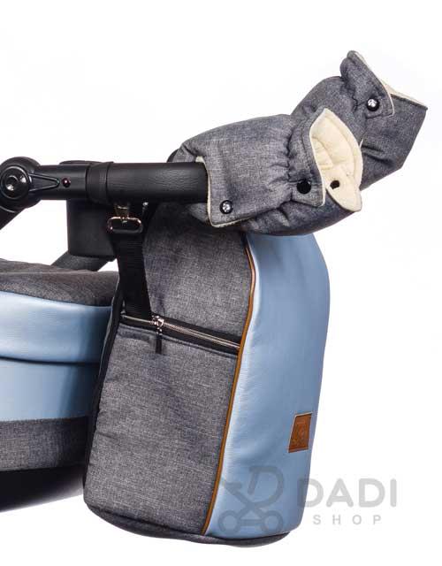 wielofunkcyjny wózek dziecięcy paradise Baby Euforia Comfort torba muffki
