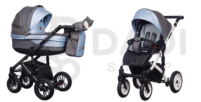 wózek dziecięcy Euforia Comfort Line Paradise Baby wielofunkcyjny spacerówka gondola dadi shop
