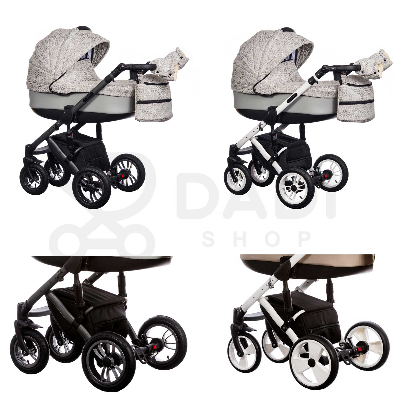 wózek dziecięcy wielofunkcyjny Euforia Paradise baby stelaż Dadi Shop