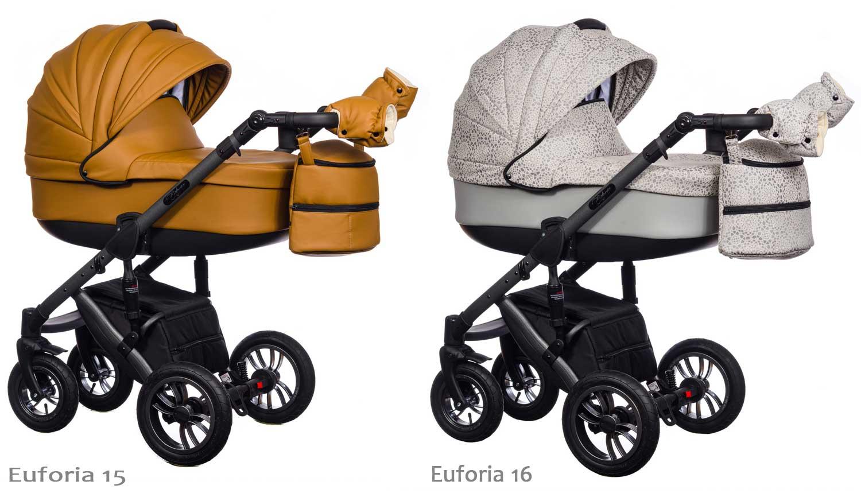 wózek Paradise Baby Euforia dziecięcy wielofunkcyjny Dadi Shop kolorystyka