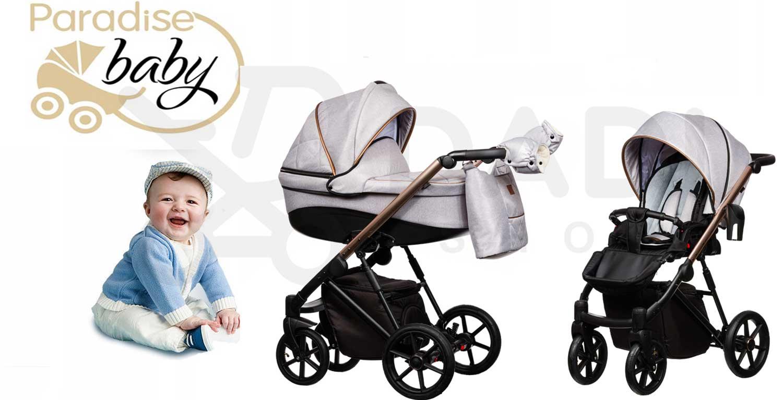 wózek dziecięcy FX wielofunkcyjny Paradise Baby eco skóra Dadi Shop