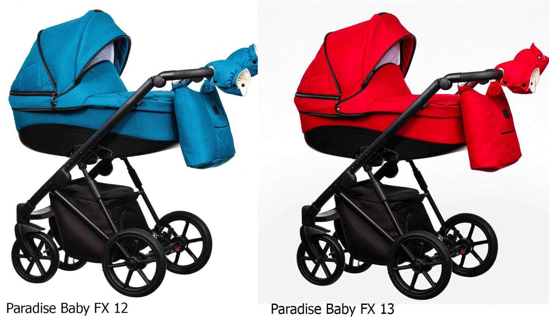 wózek wielofunkcyjny dziecięcy paradise Baby FX kolorystyka Dadi Shop