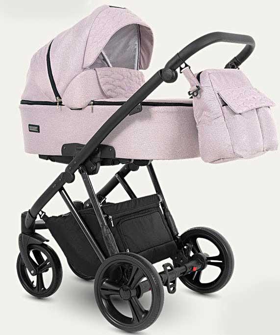 wózek dziecięcy wielofunkcyjny Faro Camarelo różowy