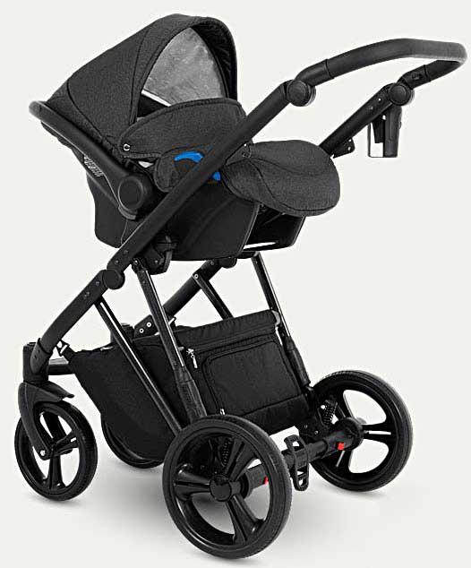 wózek dziecięcy Faro Camarelo zestaw 3w1 z fotelikiem samochodowym