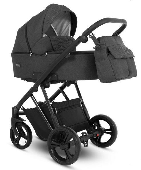 wózek dziecięcy wielofunkcyjny Faro Camarelo czarny