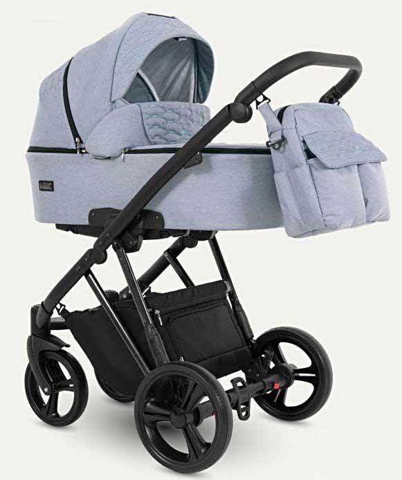 wózek dziecięcy wielofunkcyjny Faro Camarelo niebieski