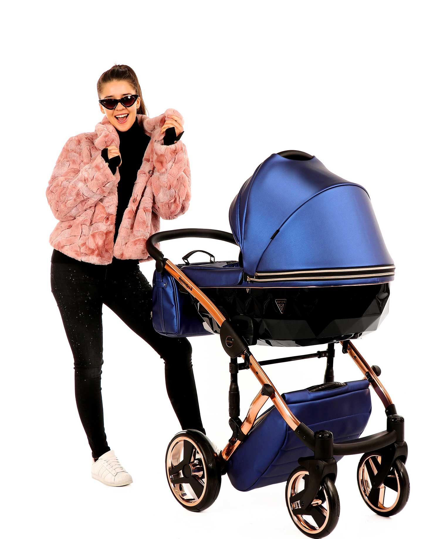 wózek dziecięcy wielofunkcyjny Junama Fluo Line