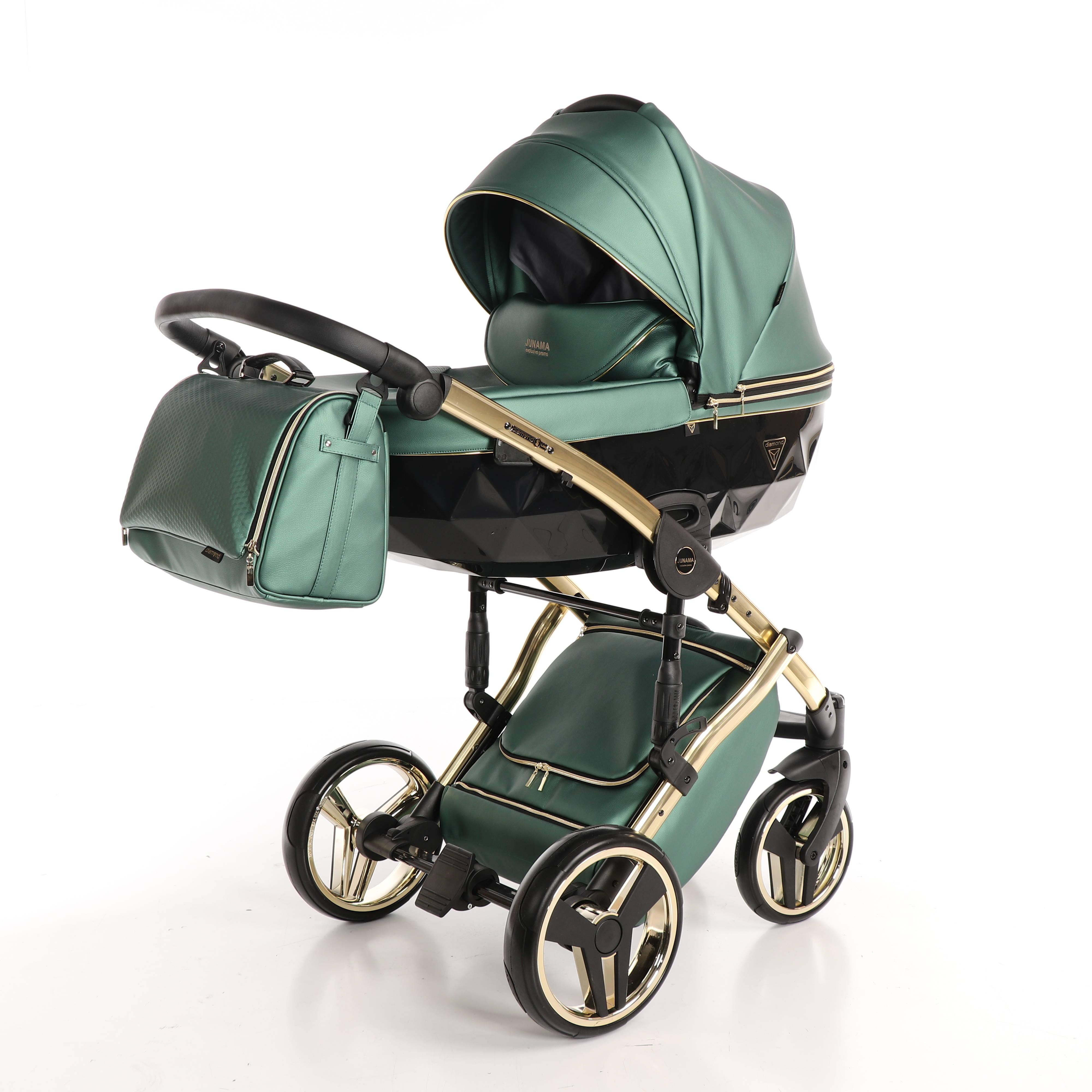 wózek Fluo Line wielofunkcyjny wózek dziecięcy Junama