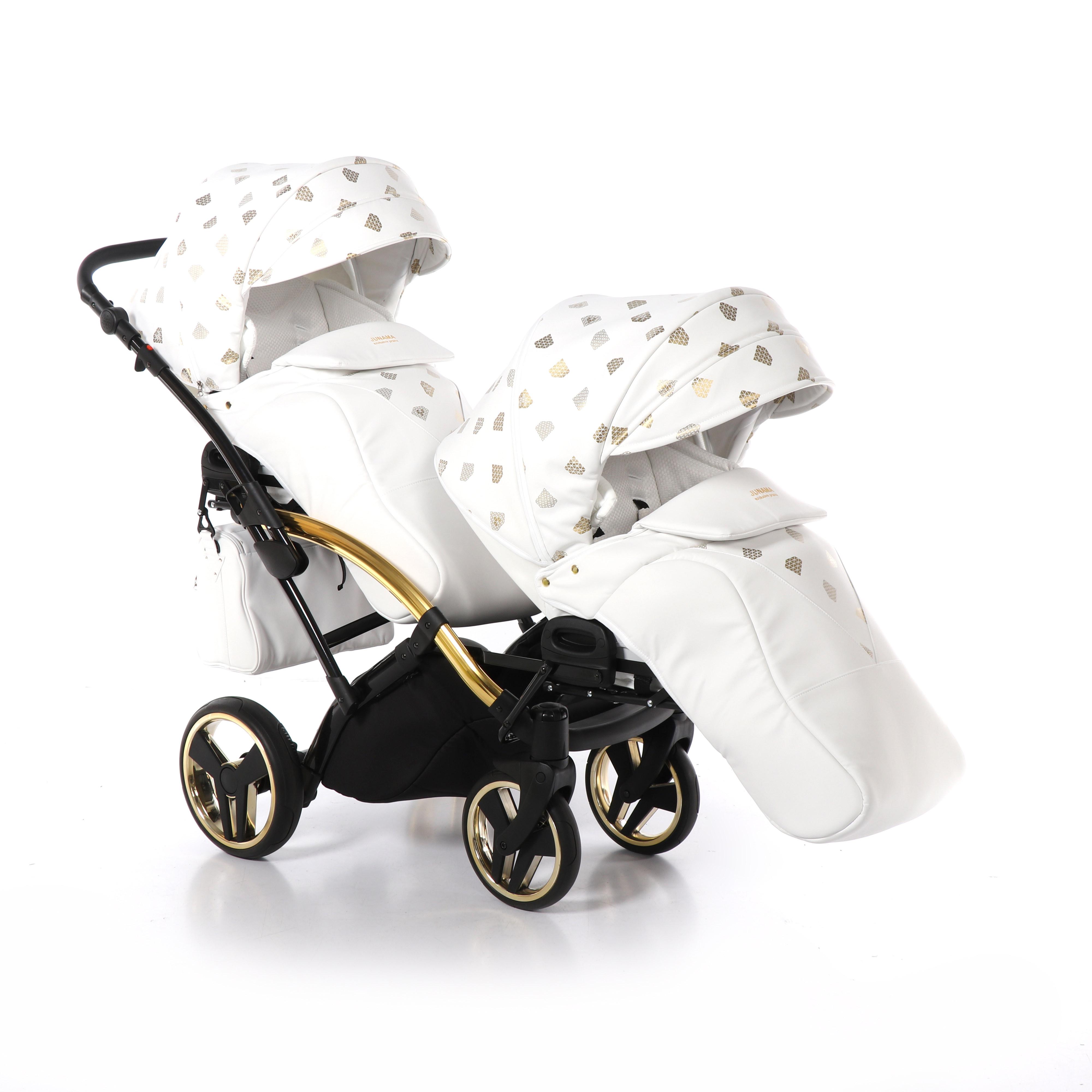 bliźniaczy wózek wielofunkcyjny Glow Duo Slim Junama