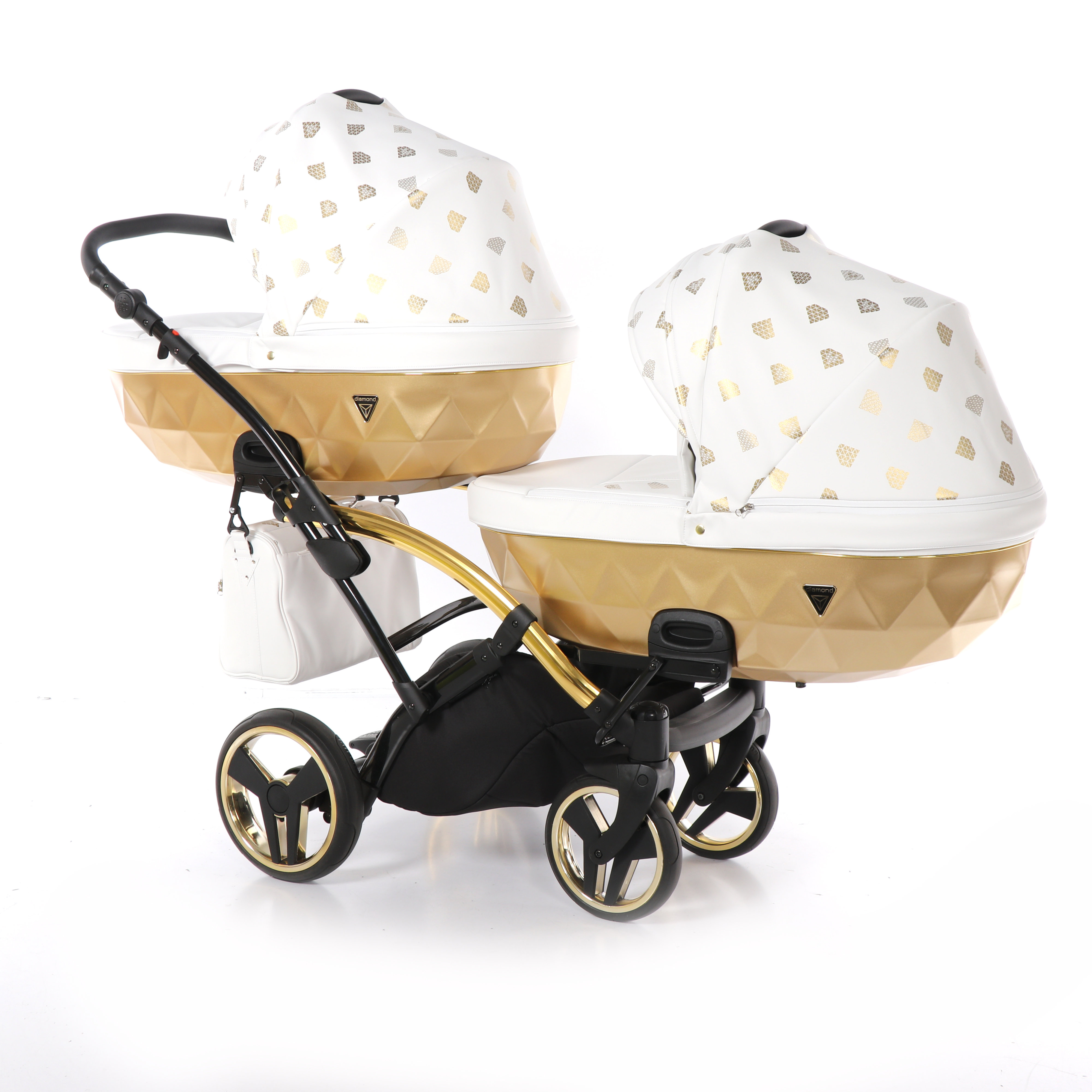 wielofunkcyjny wózek Junama Glow Duo Slim bliźniaczy