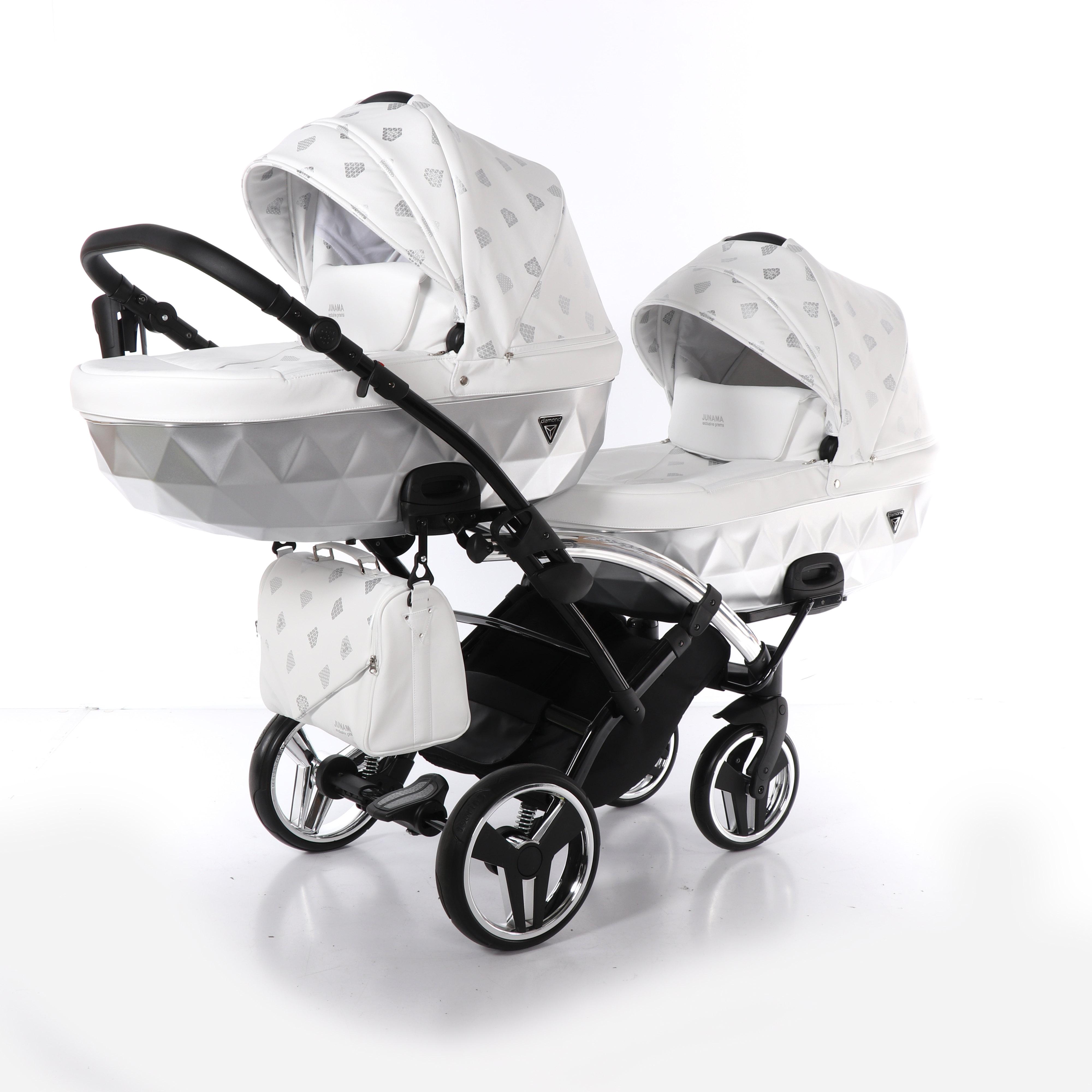 wózek Junama Glow Duo Slim bliźniaczy wielofunkcyjny