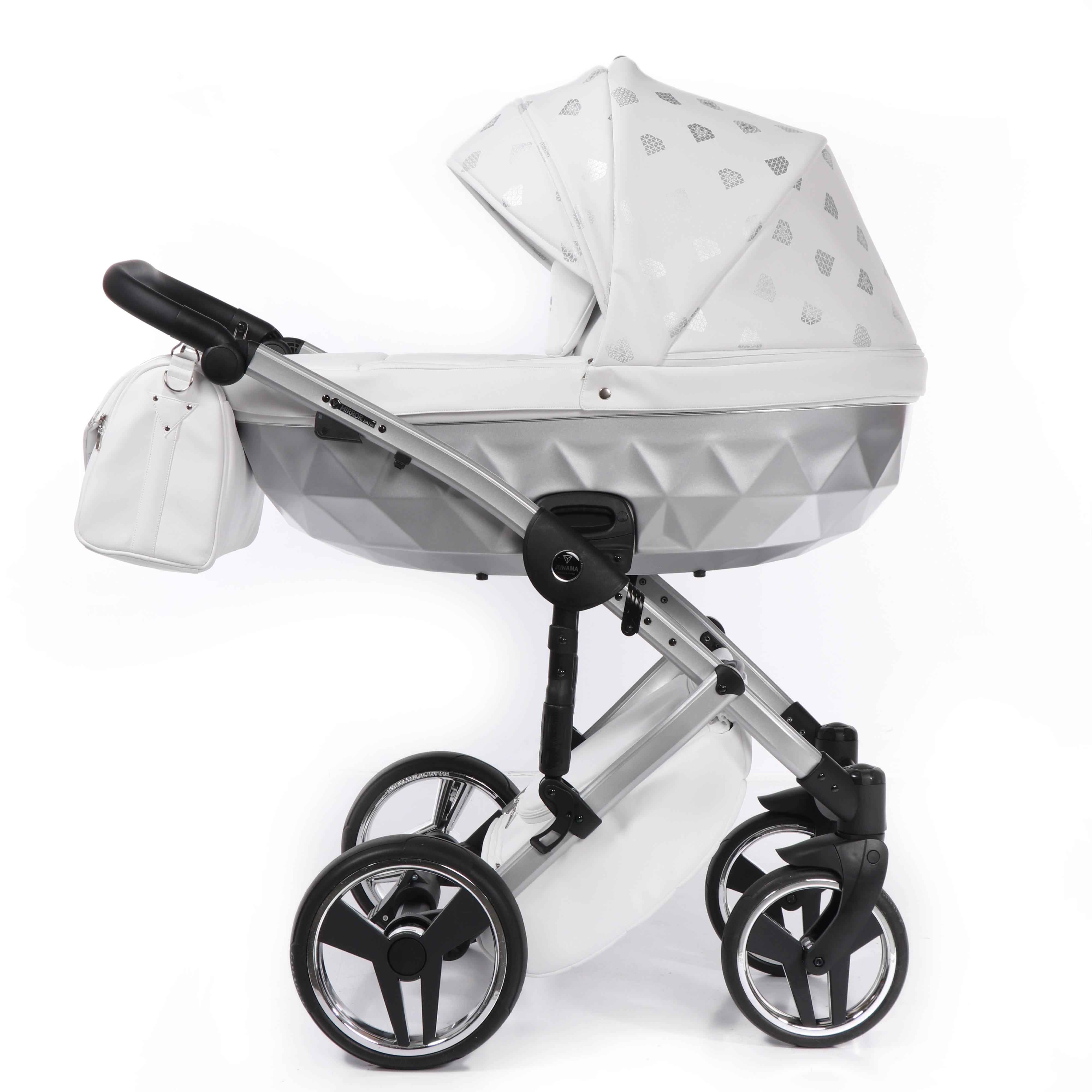 Junama Glow srebrny wózek dziecięcy