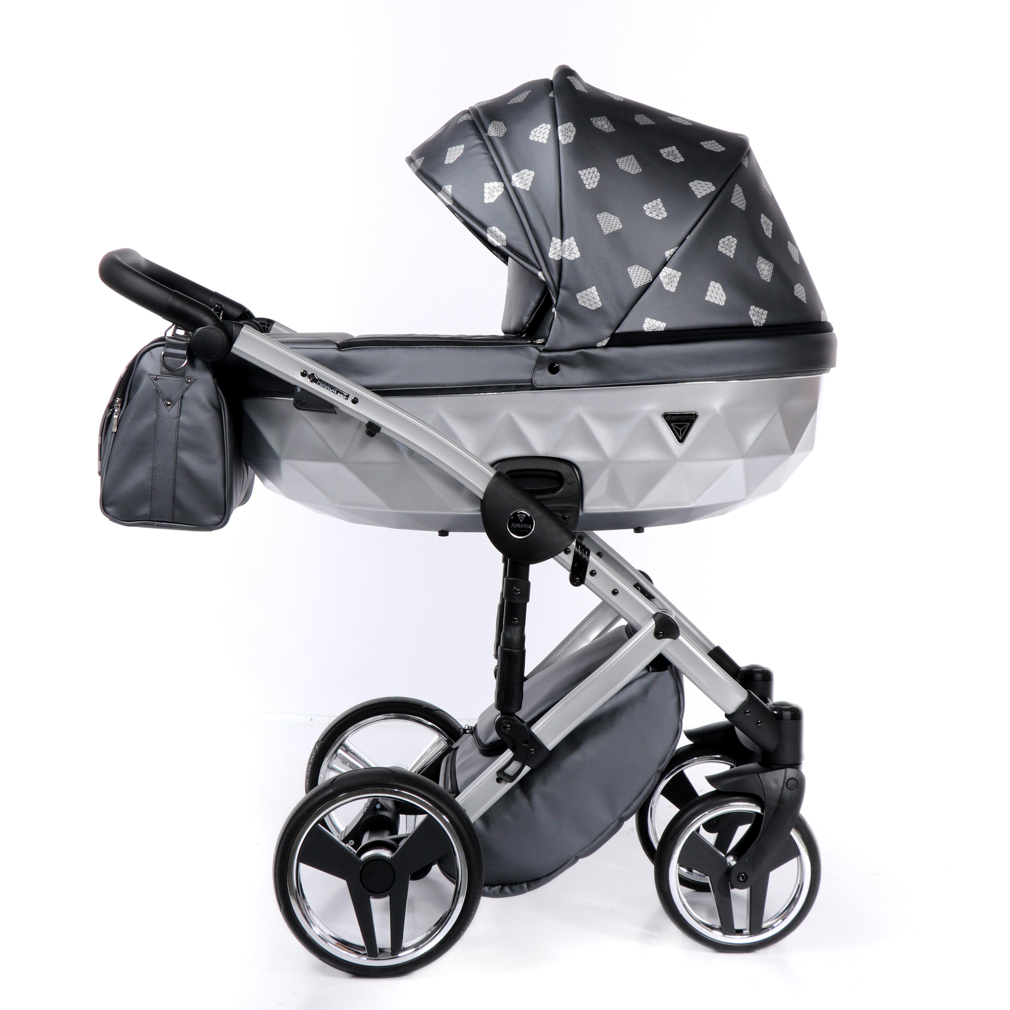 Junama Glow szary wózek dziecięcy