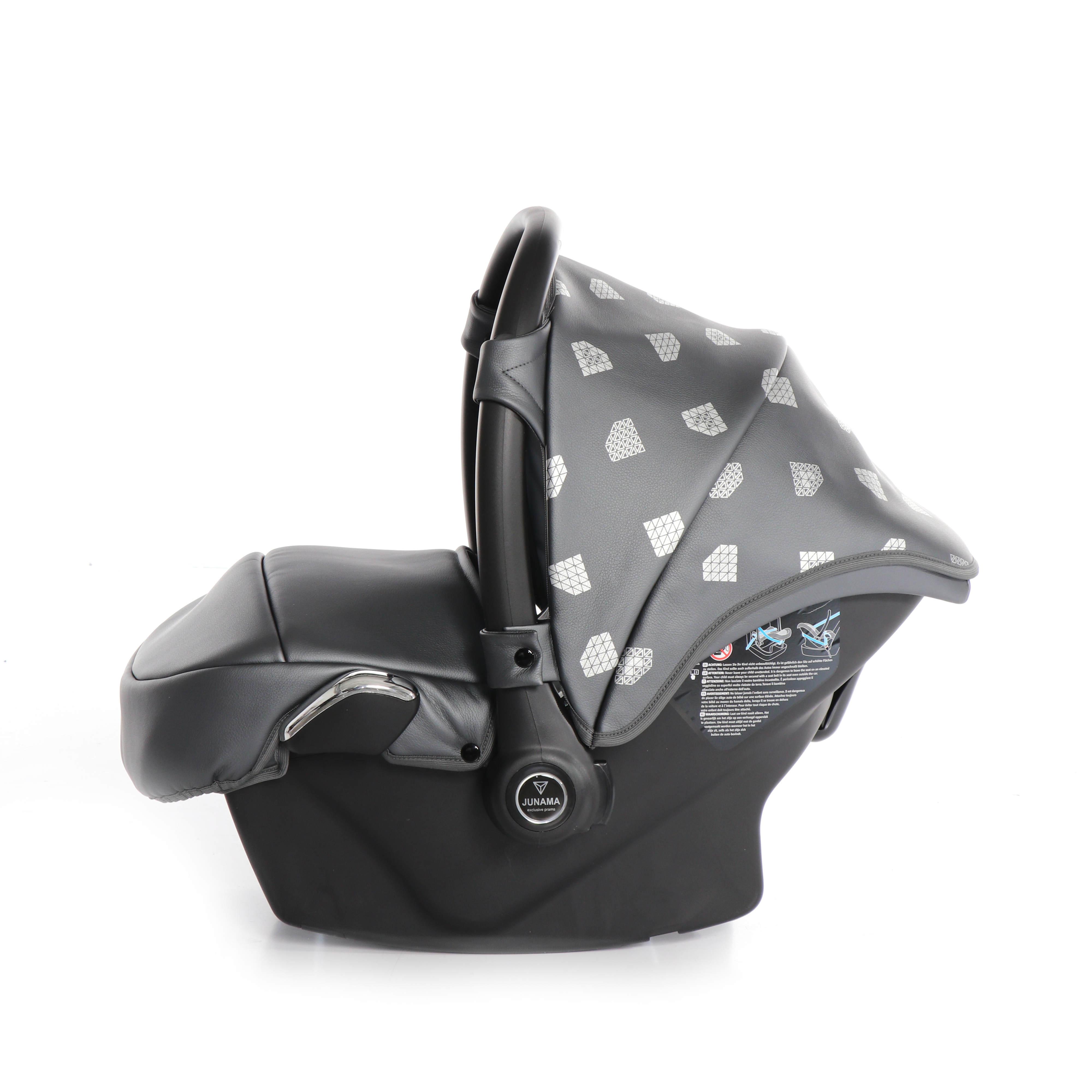wózek dziecięcy Junama Glow z fotelikiem samochodowym 3w1