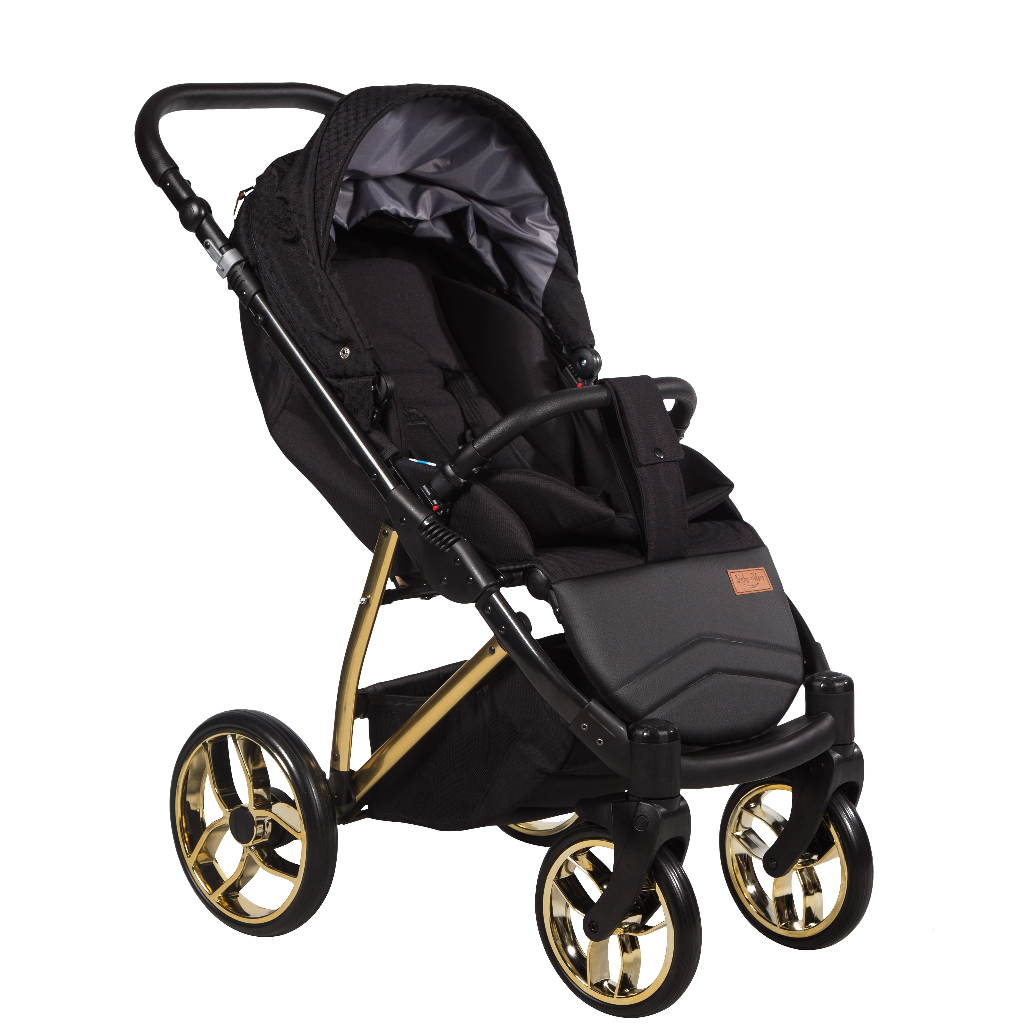 spacerowy wózek Baby Merc GTX Gold